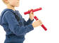 Marakas shaker Rattle Stick Orange NINO NINO576OR