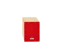 "Cajon Birch 13"" Red NINO950RD NINO"